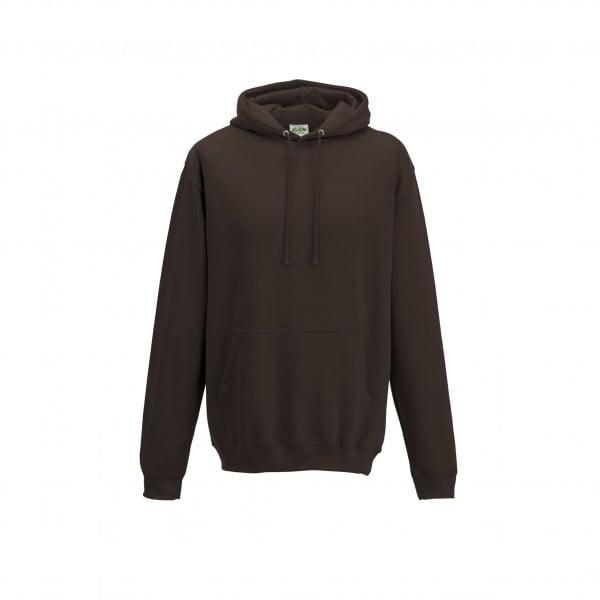 Bluzy - Bluza z kapturem College - Just Hoods JH001 - Hot Chocolate - RAVEN - koszulki reklamowe z nadrukiem, odzież reklamowa i gastronomiczna