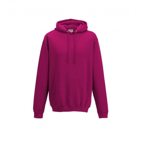 Bluzy - Bluza z kapturem College - Just Hoods JH001 - Hot Pink - RAVEN - koszulki reklamowe z nadrukiem, odzież reklamowa i gastronomiczna