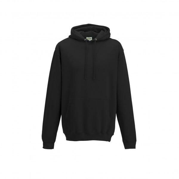 Bluzy - Bluza z kapturem College - Just Hoods JH001 - Jet Black - RAVEN - koszulki reklamowe z nadrukiem, odzież reklamowa i gastronomiczna