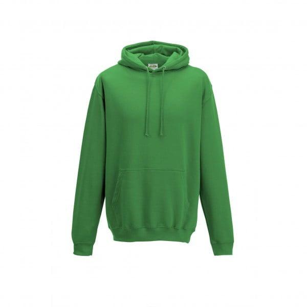 Bluzy - Bluza z kapturem College - Just Hoods JH001 - Kelly Green  - RAVEN - koszulki reklamowe z nadrukiem, odzież reklamowa i gastronomiczna