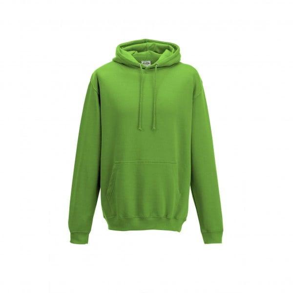 Bluzy - Bluza z kapturem College - Just Hoods JH001 - Lime Green - RAVEN - koszulki reklamowe z nadrukiem, odzież reklamowa i gastronomiczna