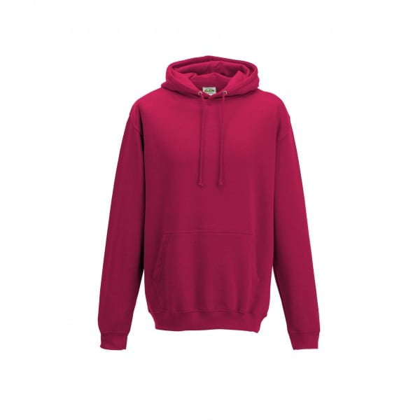 Bluzy - Bluza z kapturem College - Just Hoods JH001 - Lipstick Pink - RAVEN - koszulki reklamowe z nadrukiem, odzież reklamowa i gastronomiczna