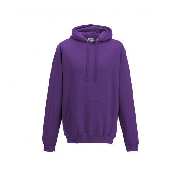 Bluzy - Bluza z kapturem College - Just Hoods JH001 - Magenta Magic - RAVEN - koszulki reklamowe z nadrukiem, odzież reklamowa i gastronomiczna