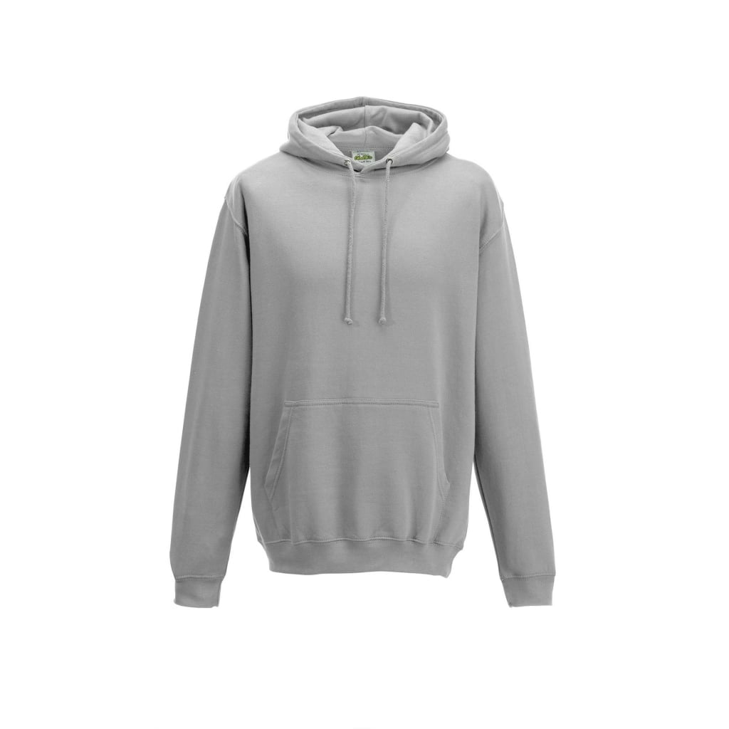 Bluzy - Bluza z kapturem College - Just Hoods JH001 - Moondust Grey - RAVEN - koszulki reklamowe z nadrukiem, odzież reklamowa i gastronomiczna