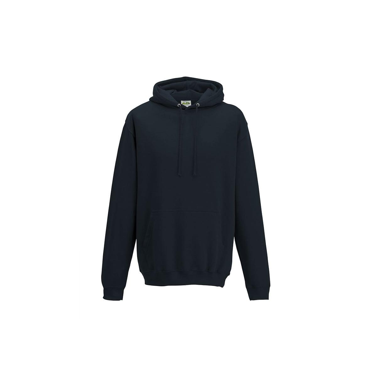 Bluzy - Bluza z kapturem College - Just Hoods JH001 - New French Navy - RAVEN - koszulki reklamowe z nadrukiem, odzież reklamowa i gastronomiczna