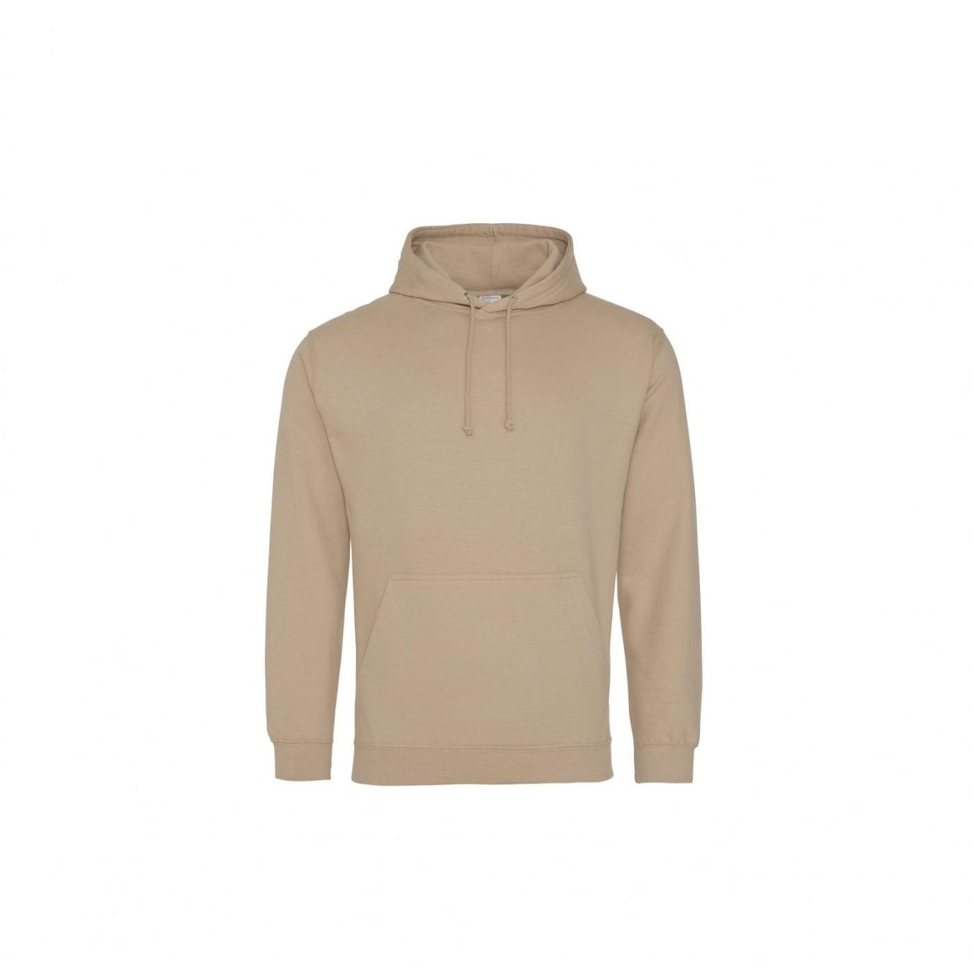 Bluzy - Bluza z kapturem College - Just Hoods JH001 - Nude - RAVEN - koszulki reklamowe z nadrukiem, odzież reklamowa i gastronomiczna