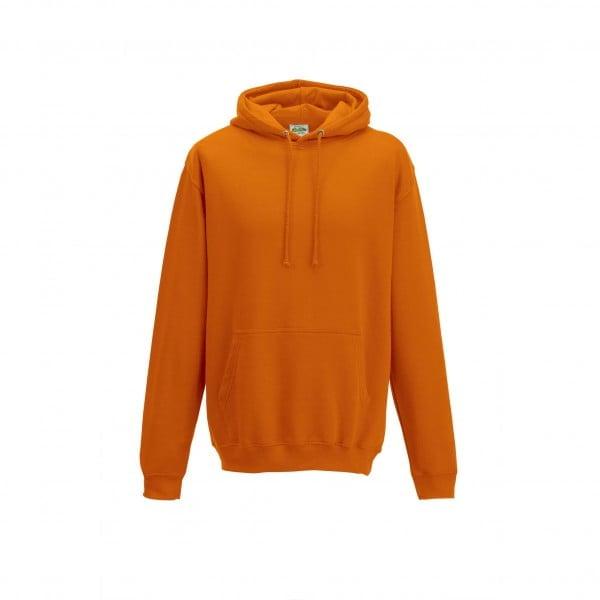 Bluzy - Bluza z kapturem College - Just Hoods JH001 - Orange Crush - RAVEN - koszulki reklamowe z nadrukiem, odzież reklamowa i gastronomiczna