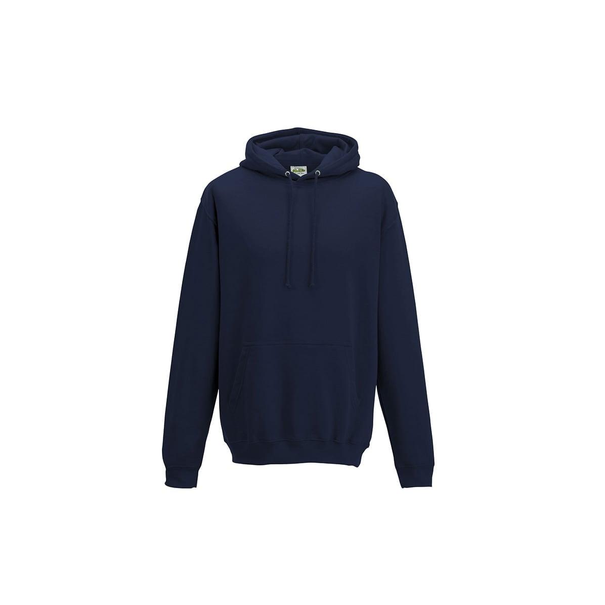 Bluzy - Bluza z kapturem College - Just Hoods JH001 - Oxford Navy - RAVEN - koszulki reklamowe z nadrukiem, odzież reklamowa i gastronomiczna