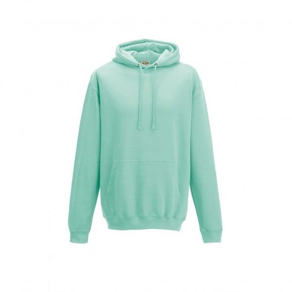 Bluzy - Bluza z kapturem College - Just Hoods JH001 - Peppermint - RAVEN - koszulki reklamowe z nadrukiem, odzież reklamowa i gastronomiczna