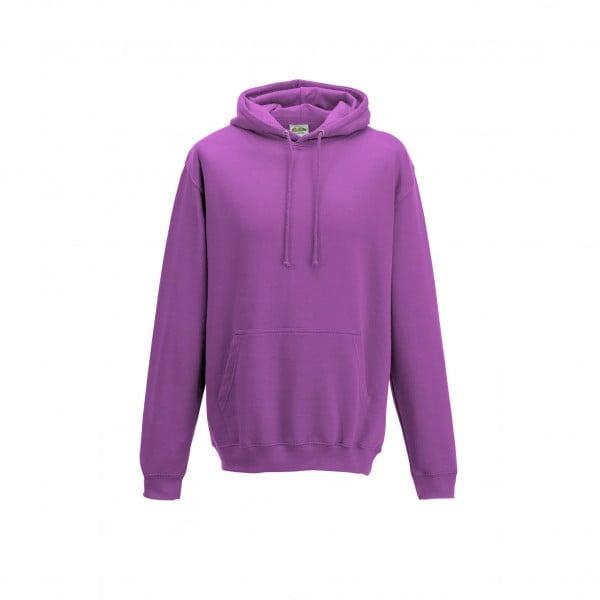 Bluzy - Bluza z kapturem College - Just Hoods JH001 - Pinky Purple - RAVEN - koszulki reklamowe z nadrukiem, odzież reklamowa i gastronomiczna