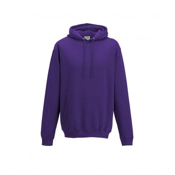 Bluzy - Bluza z kapturem College - Just Hoods JH001 - Purple - RAVEN - koszulki reklamowe z nadrukiem, odzież reklamowa i gastronomiczna