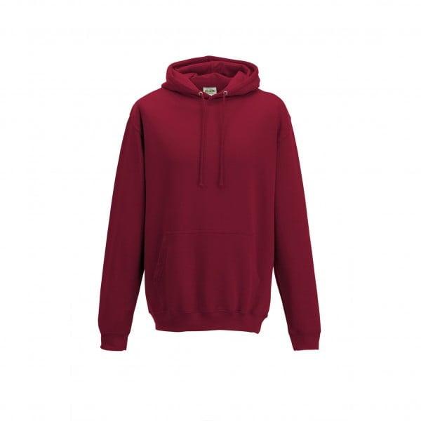 Bluzy - Bluza z kapturem College - Just Hoods JH001 - Red Hot Chili - RAVEN - koszulki reklamowe z nadrukiem, odzież reklamowa i gastronomiczna