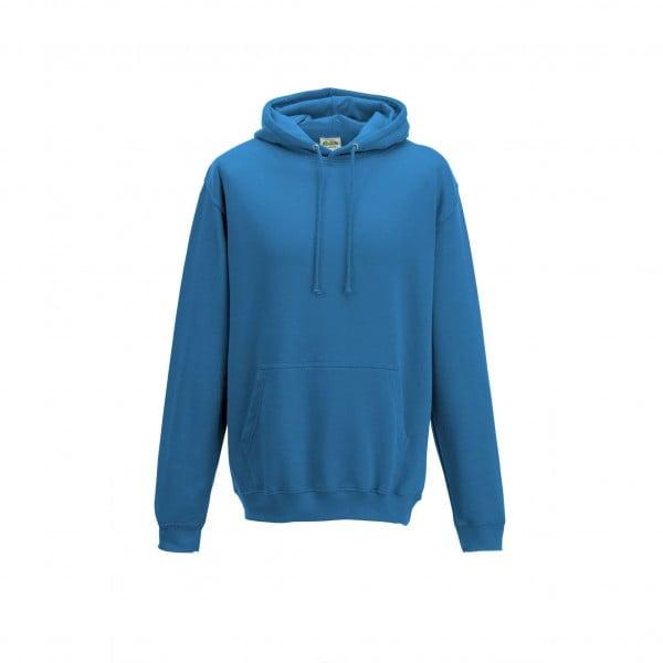 Bluzy - Bluza z kapturem College - Just Hoods JH001 - Sapphire Blue - RAVEN - koszulki reklamowe z nadrukiem, odzież reklamowa i gastronomiczna