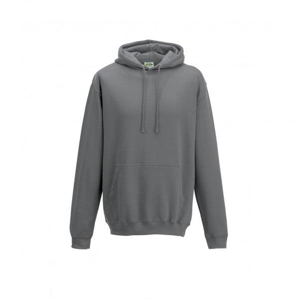 Bluzy - Bluza z kapturem College - Just Hoods JH001 - Steel Grey (Solid) - RAVEN - koszulki reklamowe z nadrukiem, odzież reklamowa i gastronomiczna