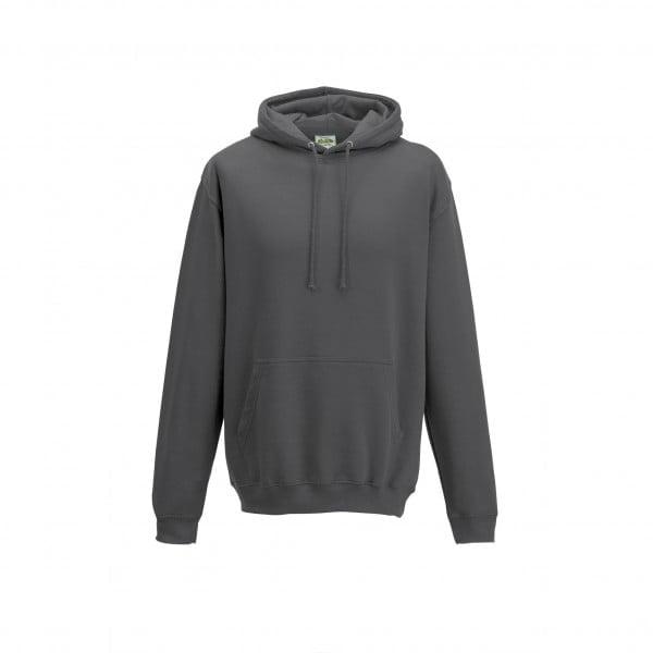 Bluzy - Bluza z kapturem College - Just Hoods JH001 - Storm Grey - RAVEN - koszulki reklamowe z nadrukiem, odzież reklamowa i gastronomiczna