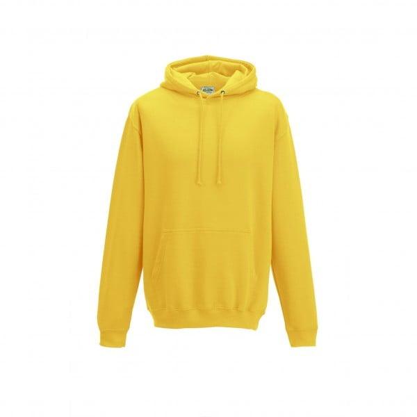 Bluzy - Bluza z kapturem College - Just Hoods JH001 - Sun Yellow - RAVEN - koszulki reklamowe z nadrukiem, odzież reklamowa i gastronomiczna