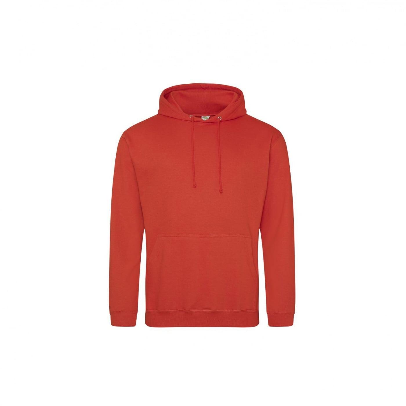Bluzy - Bluza z kapturem College - Just Hoods JH001 - Sunset Orange - RAVEN - koszulki reklamowe z nadrukiem, odzież reklamowa i gastronomiczna