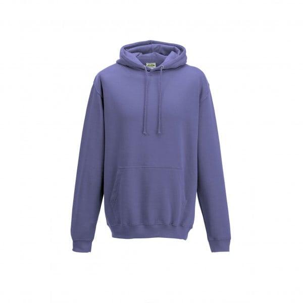 Bluzy - Bluza z kapturem College - Just Hoods JH001 - True Violet - RAVEN - koszulki reklamowe z nadrukiem, odzież reklamowa i gastronomiczna