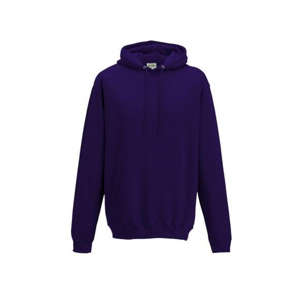 Bluzy - Bluza z kapturem College - Just Hoods JH001 - Ultraviolett - RAVEN - koszulki reklamowe z nadrukiem, odzież reklamowa i gastronomiczna