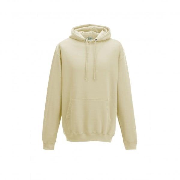 Bluzy - Bluza z kapturem College - Just Hoods JH001 - Vanilla Milkshake - RAVEN - koszulki reklamowe z nadrukiem, odzież reklamowa i gastronomiczna