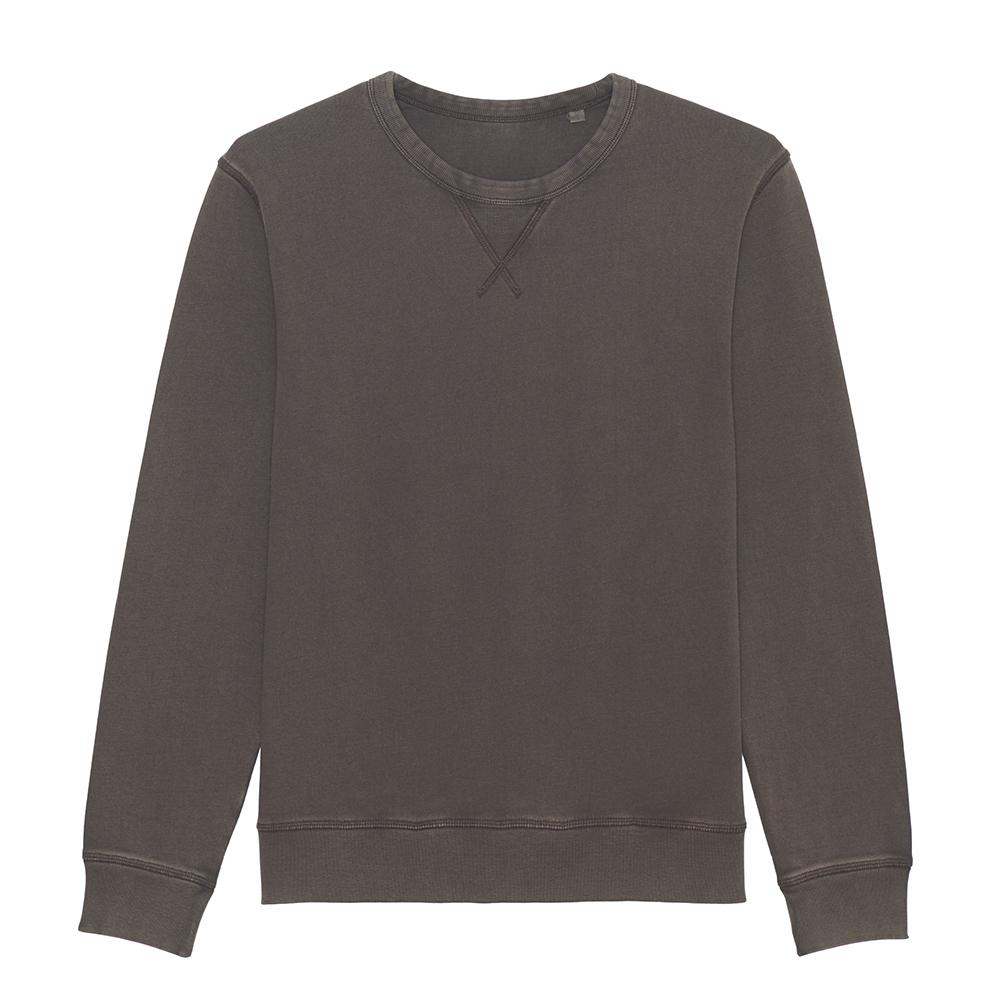 Bluzy - Bluza unisex Joiner Vintage - STSU720 - Deep chocolate - RAVEN - koszulki reklamowe z nadrukiem, odzież reklamowa i gastronomiczna