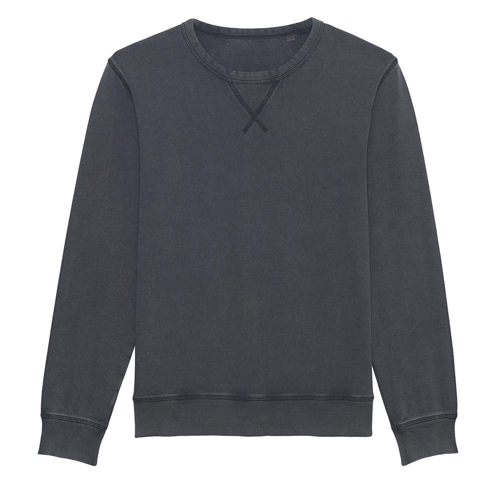 Bluzy - Bluza unisex Joiner Vintage - STSU720 - India Ink Grey - RAVEN - koszulki reklamowe z nadrukiem, odzież reklamowa i gastronomiczna