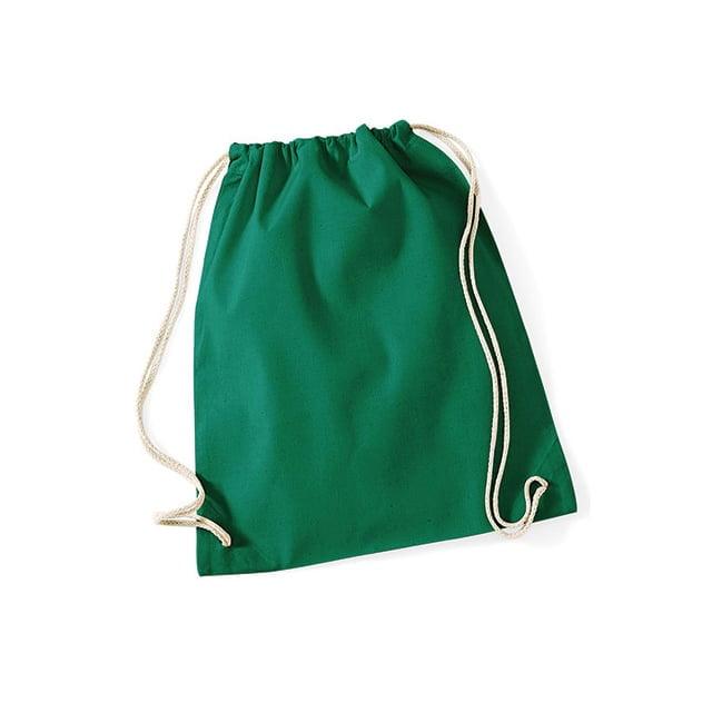 Torby i plecaki - Worek festiwalowy Cotton Gym - W110 - Kelly Green  - RAVEN - koszulki reklamowe z nadrukiem, odzież reklamowa i gastronomiczna