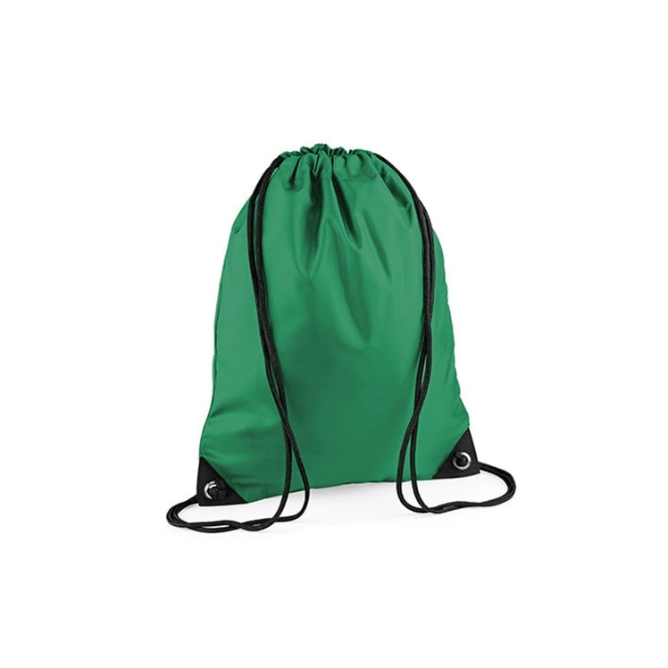 Torby i plecaki - Worek festiwalowy Premium - BG10 - Kelly Green  - RAVEN - koszulki reklamowe z nadrukiem, odzież reklamowa i gastronomiczna