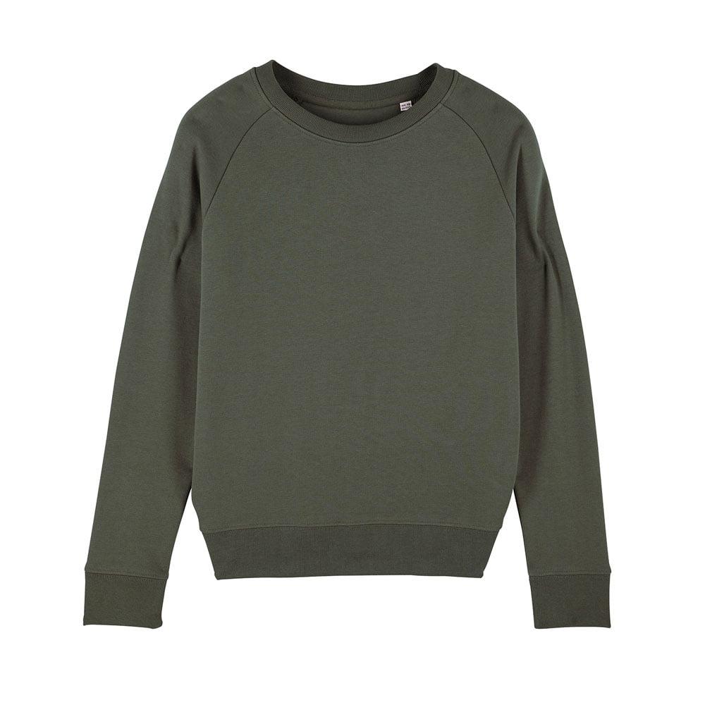 Bluzy - Damska Bluza Stella Tripster - STSW146 - Khaki - RAVEN - koszulki reklamowe z nadrukiem, odzież reklamowa i gastronomiczna