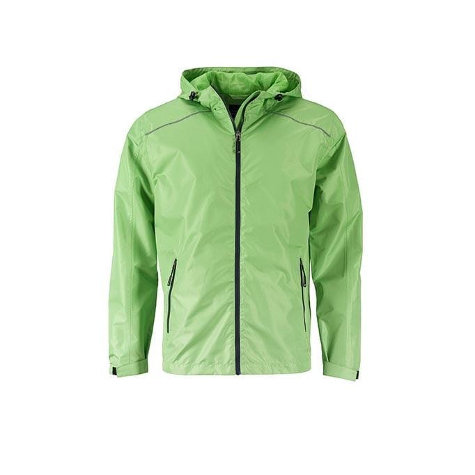 Kurtki - Mens` Rain Jacket -  JN1118 - Spring Green - RAVEN - koszulki reklamowe z nadrukiem, odzież reklamowa i gastronomiczna