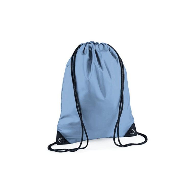 Torby i plecaki - Worek festiwalowy Premium - BG10 - Laser Blue - RAVEN - koszulki reklamowe z nadrukiem, odzież reklamowa i gastronomiczna