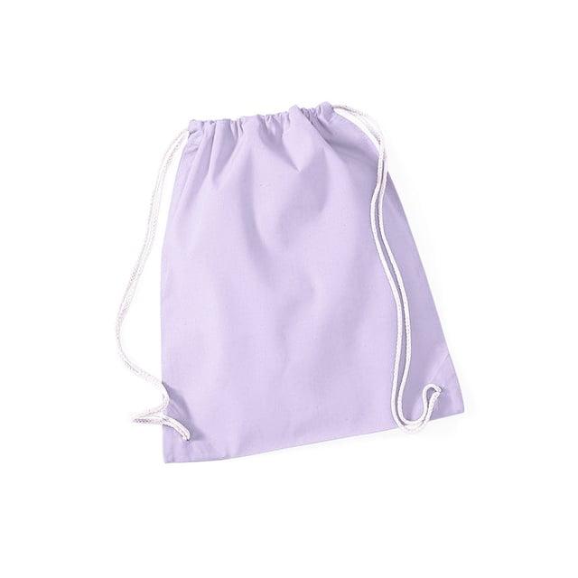 Torby i plecaki - Worek festiwalowy Cotton Gym - W110 - Lavender - RAVEN - koszulki reklamowe z nadrukiem, odzież reklamowa i gastronomiczna