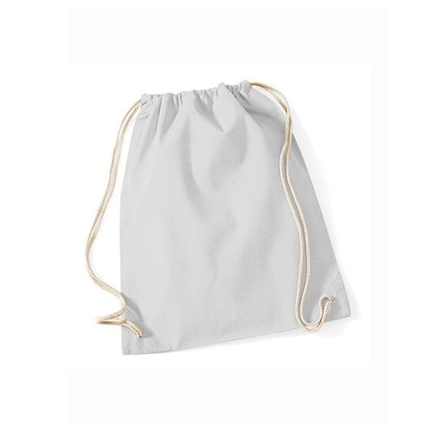 Torby i plecaki - Worek festiwalowy Cotton Gym - W110 - Light Grey - RAVEN - koszulki reklamowe z nadrukiem, odzież reklamowa i gastronomiczna