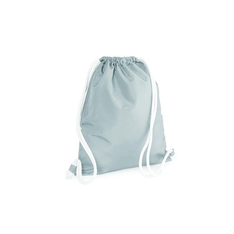 Torby i plecaki - Icon Gymsac - BG110 - Light Grey - RAVEN - koszulki reklamowe z nadrukiem, odzież reklamowa i gastronomiczna