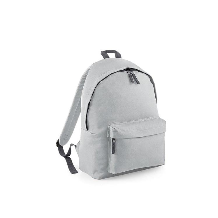 Torby i plecaki - Original Fashion Backpack - BG125 - Light Grey - RAVEN - koszulki reklamowe z nadrukiem, odzież reklamowa i gastronomiczna