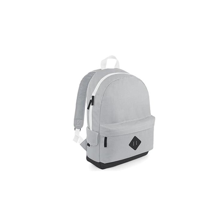 Torby i plecaki - Heritage Backpack - BG825 - Light Grey - RAVEN - koszulki reklamowe z nadrukiem, odzież reklamowa i gastronomiczna