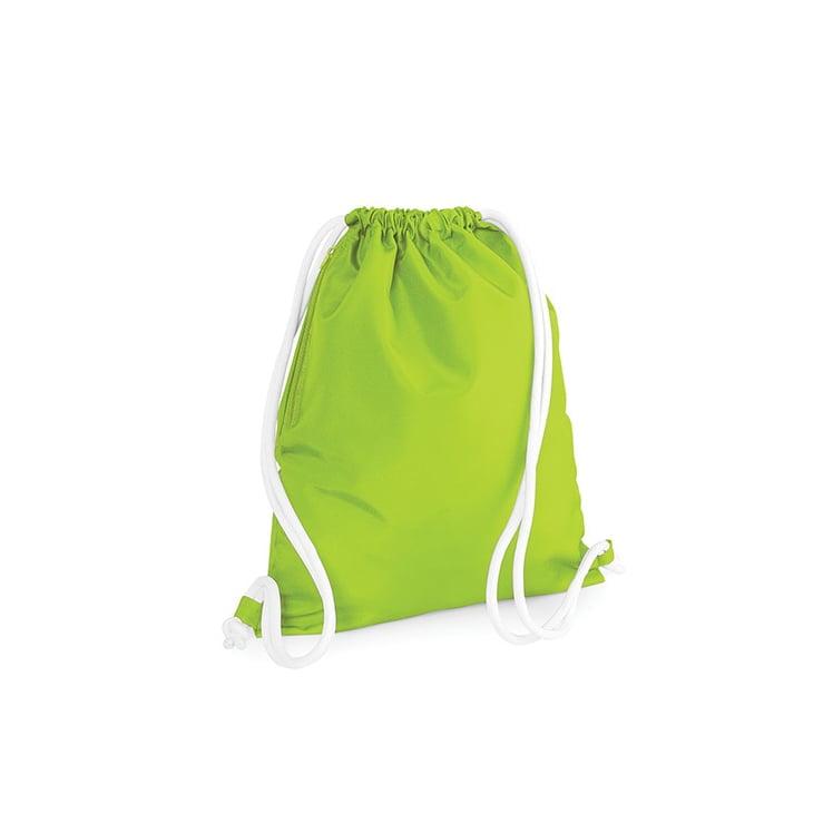 Torby i plecaki - Icon Gymsac - BG110 - Lime Green - RAVEN - koszulki reklamowe z nadrukiem, odzież reklamowa i gastronomiczna