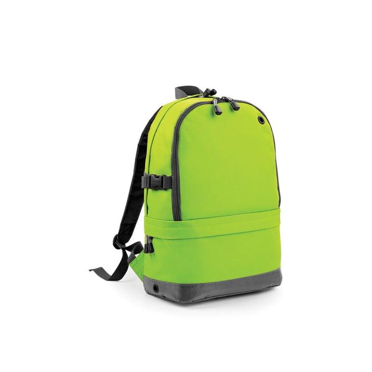 Torby i plecaki - Athleisure Pro Backpack - BG550 - Lime Green - RAVEN - koszulki reklamowe z nadrukiem, odzież reklamowa i gastronomiczna