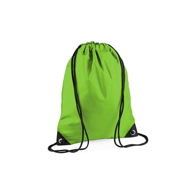 Torby i plecaki - Worek festiwalowy Premium - BG10 - Lime Green - RAVEN - koszulki reklamowe z nadrukiem, odzież reklamowa i gastronomiczna