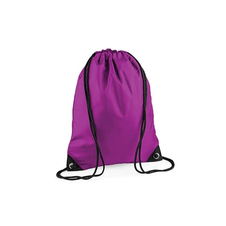 Torby i plecaki - Worek festiwalowy Premium - BG10 - Magenta - RAVEN - koszulki reklamowe z nadrukiem, odzież reklamowa i gastronomiczna