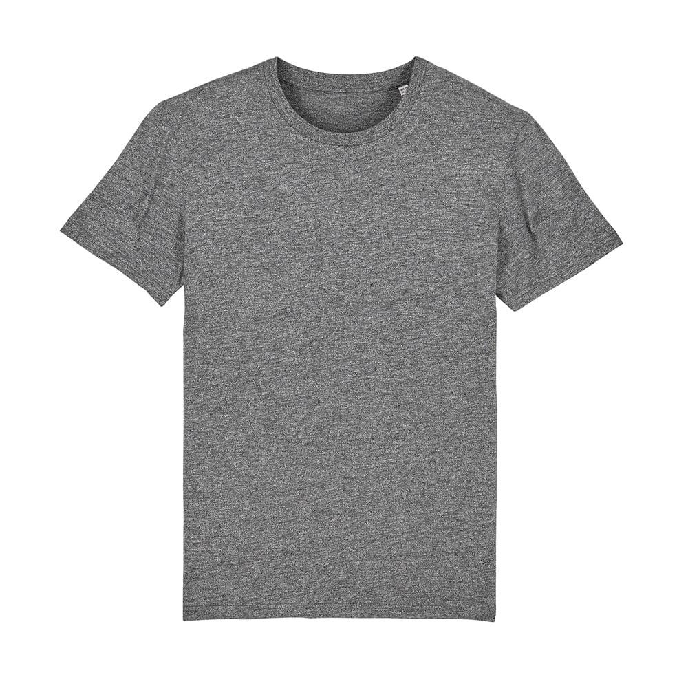 Koszulki T-Shirt - T-shirt unisex Creator - STTU755 - Marble Slub Heather Black - RAVEN - koszulki reklamowe z nadrukiem, odzież reklamowa i gastronomiczna