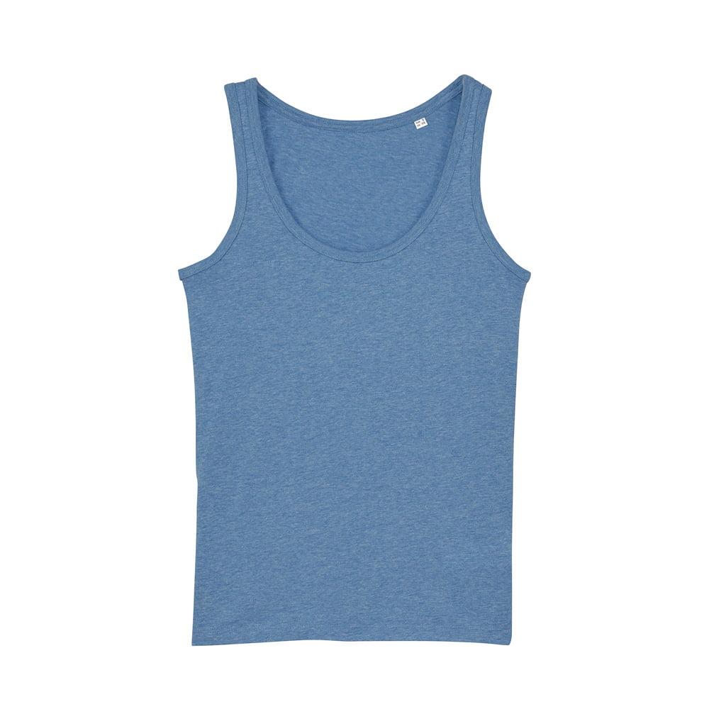 Koszulki T-Shirt - Damski Tank Top Stella Dreamer - STTW013 - Mid Heather Blue - RAVEN - koszulki reklamowe z nadrukiem, odzież reklamowa i gastronomiczna