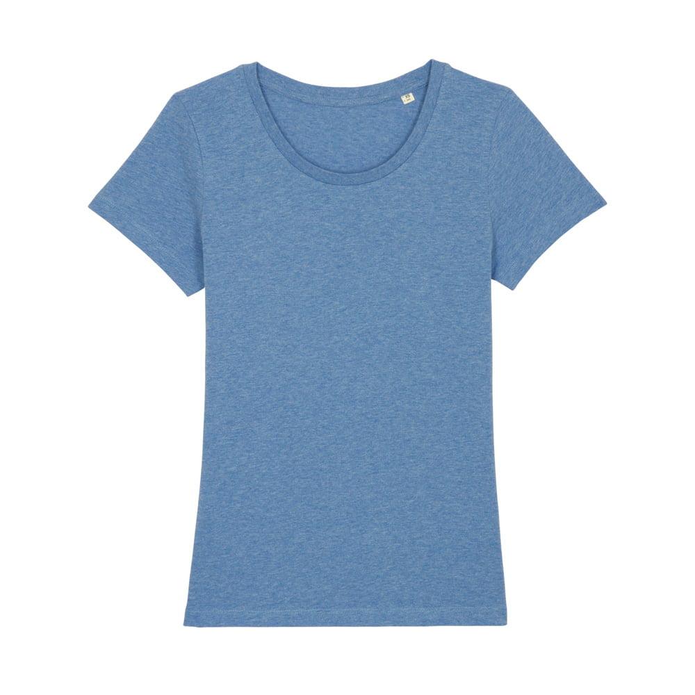 Koszulki T-Shirt - Damski T-shirt Stella Expresser - STTW032 - Mid Heather Blue - RAVEN - koszulki reklamowe z nadrukiem, odzież reklamowa i gastronomiczna