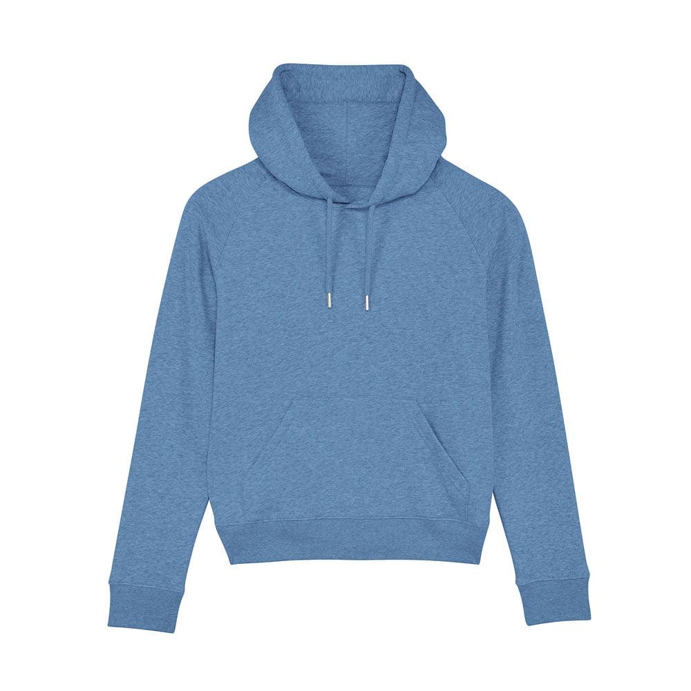 Bluzy - Damska Bluza Stella Trigger - STSW148 - Mid Heather Blue - RAVEN - koszulki reklamowe z nadrukiem, odzież reklamowa i gastronomiczna