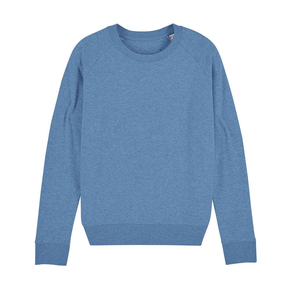 Bluzy - Damska Bluza Stella Tripster - STSW146 - Mid Heather Blue - RAVEN - koszulki reklamowe z nadrukiem, odzież reklamowa i gastronomiczna