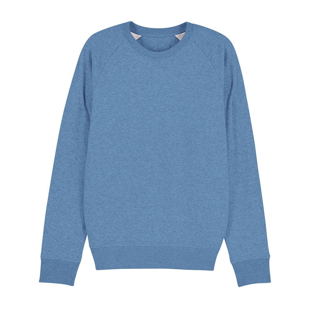 Bluzy - Męska Bluza Stanley Stroller - STSM567 - Mid Heather Blue - RAVEN - koszulki reklamowe z nadrukiem, odzież reklamowa i gastronomiczna