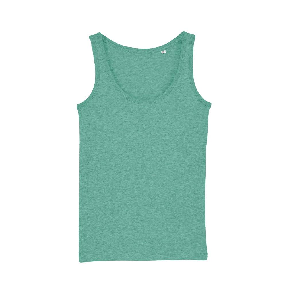 Koszulki T-Shirt - Damski Tank Top Stella Dreamer - STTW013 - Mid Heather Green - RAVEN - koszulki reklamowe z nadrukiem, odzież reklamowa i gastronomiczna