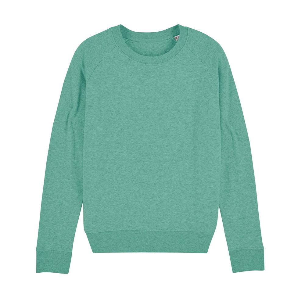 Bluzy - Damska Bluza Stella Tripster - STSW146 - Mid Heather Green - RAVEN - koszulki reklamowe z nadrukiem, odzież reklamowa i gastronomiczna