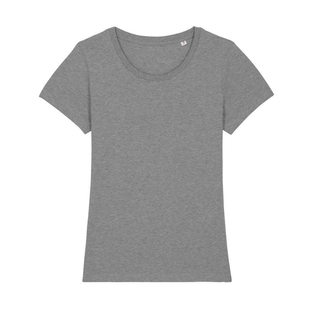 Koszulki T-Shirt - Damski T-shirt Stella Expresser - STTW032 - Mid Heather Grey - RAVEN - koszulki reklamowe z nadrukiem, odzież reklamowa i gastronomiczna