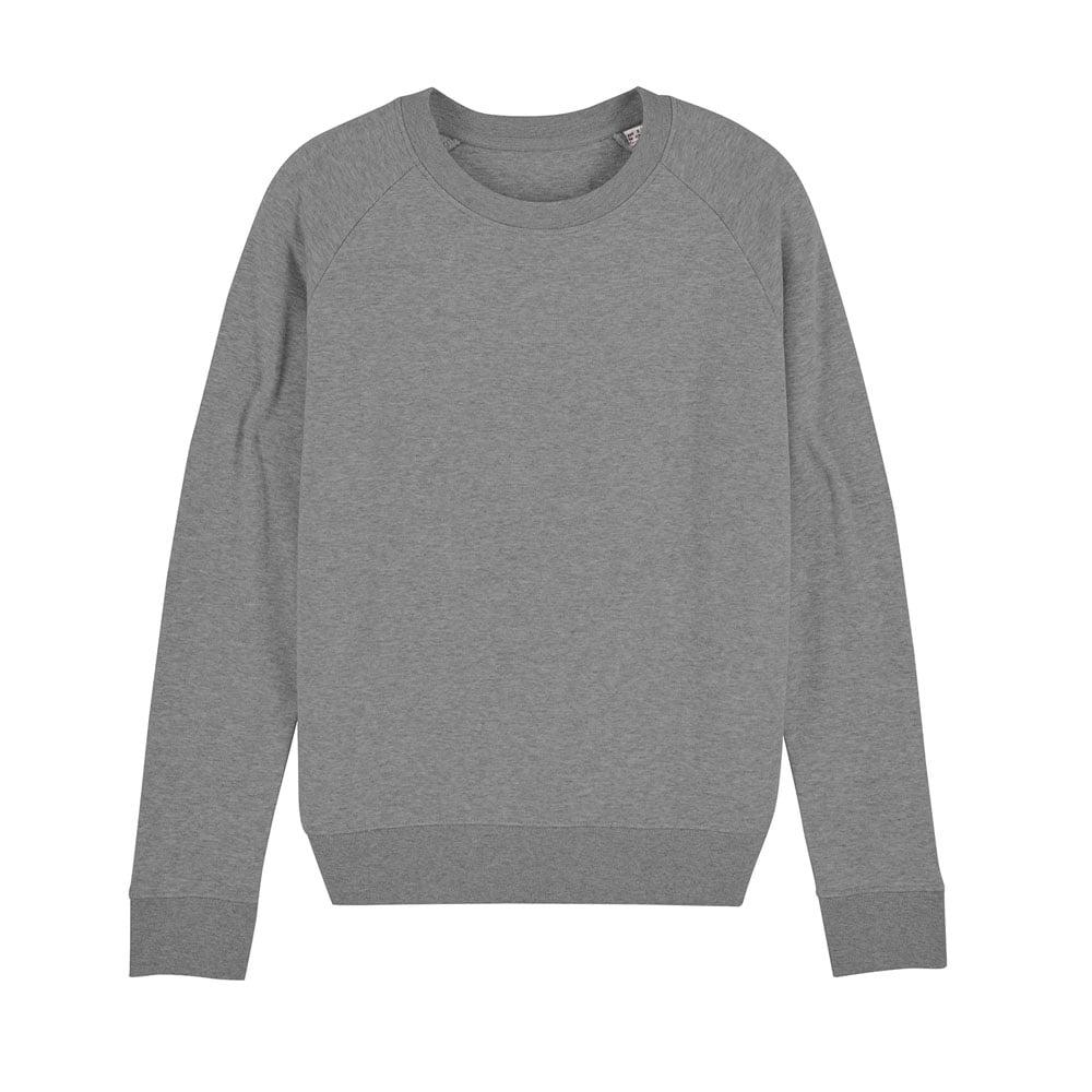 Bluzy - Damska Bluza Stella Tripster - STSW146 - Mid Heather Grey - RAVEN - koszulki reklamowe z nadrukiem, odzież reklamowa i gastronomiczna